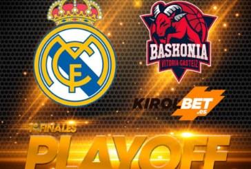 Ponturi pariuri baschet finala Liga ACB – Real Madrid vsBaskonia, primul meci