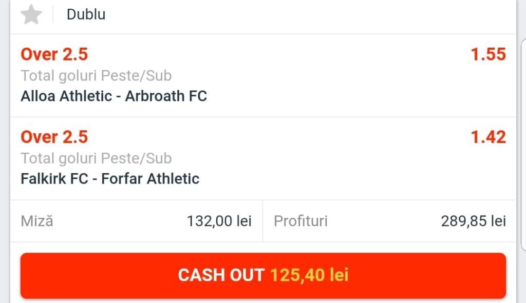 Biletul Zilei fotbal – Marti 17 Iulie – Cota 2.20 – Castig potential 290 RON