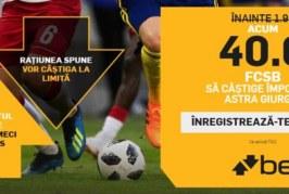 Biletul Zilei fotbal – Sambata 21 Iulie – Cota 2.35 – Castig potential 235 RON