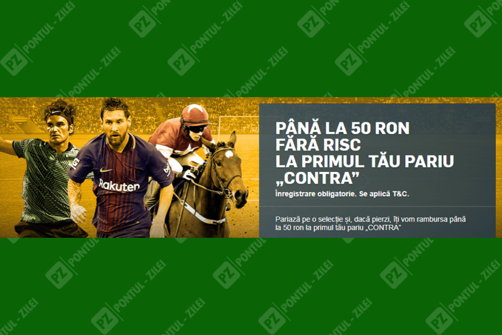 50 ron fara risc Betfair