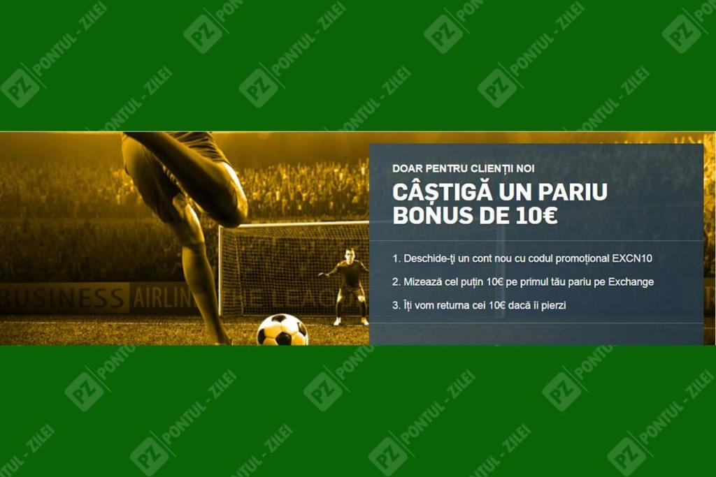 Bonus Betfair exchange