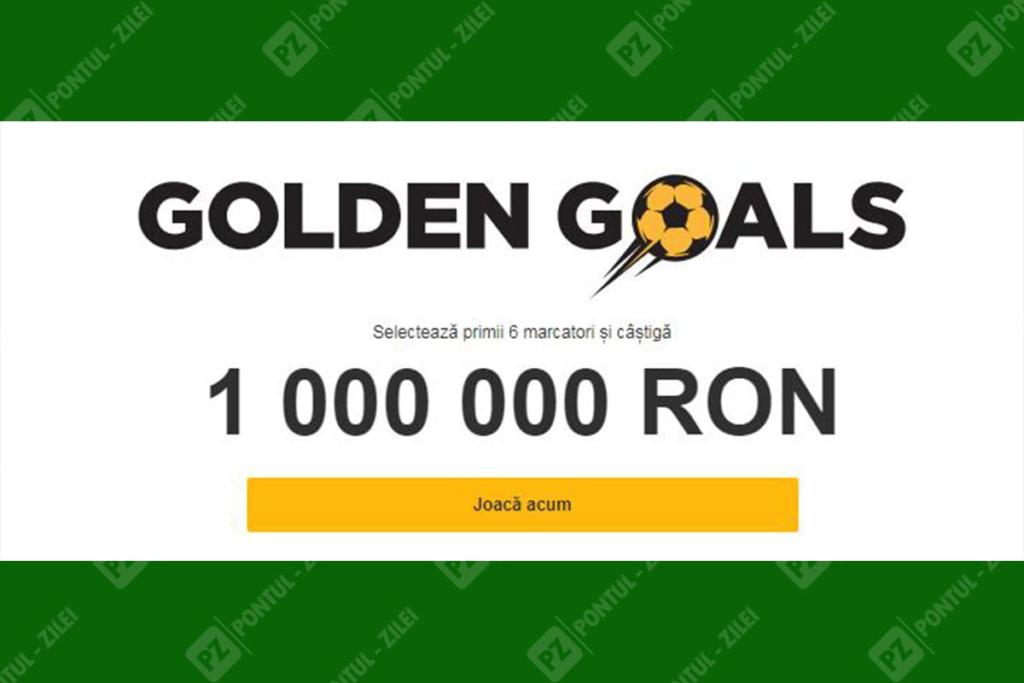 Golden Goals la Betfair