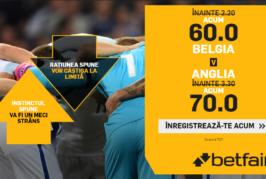 Biletul Zilei fotbal – Sambata 14 Iulie – Cota 2.33 – Castig potential 233 RON