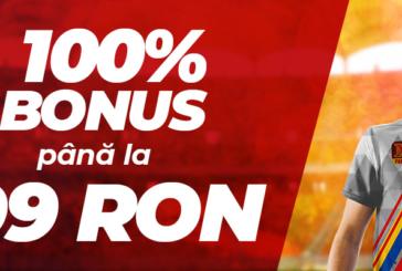 La MaxBet ai 100% Bonus pentru următoarea depunere!