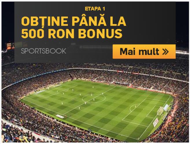 bonus betfair pana la 500 ron