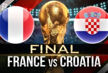 Ponturi Franta vs Croatia 15 iulie 2018 finala CM