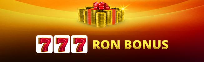 bonus cazino winbet 777 RON