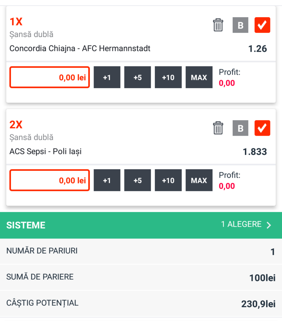 Biletul Zilei fotbal – Sambata 11 August – Cota 2.30 – Castig potential 230 RON