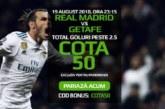 Pontul zilei din fotbal – Duminica 19 August – Cota 2.12 – Castig potential 212 RON