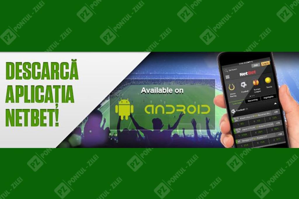 Aplicatia pentru mobil NetBet