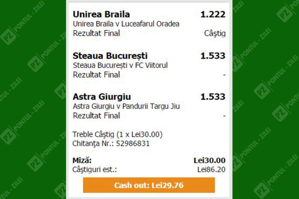 Cash Out la Maxbet