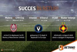Echipele din Liga 1 Betano luptă pentru calificarea în turul 3