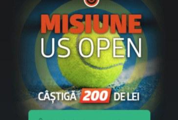 Misiune Betano: Pariaza pe US Open si primesti pana la 200 RON!