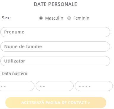 formular date personale netbet