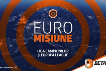 Misiune Betano: Aventura din Liga Campionilor și Europa League a început!