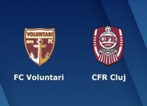 Ponturi Voluntari vs CFR Cluj fotbal 25 octombrie 2020 Liga 1