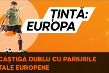 Castigi dublu cu pariurile jucate pe Champions si Europa League!
