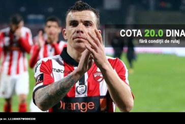Pariaza la cota 20.0, fara conditii de rulaj, pe victorie Dinamo cu Sepsi