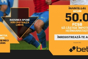 Cota zilei din fotbal – Duminica 30 Septembrie – Cota 2.10 – Castig potential 210 RON