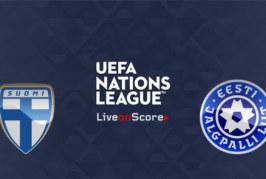Ponturi Finlanda vs Estonia 11 septembrie 2018 Liga Natiunilor
