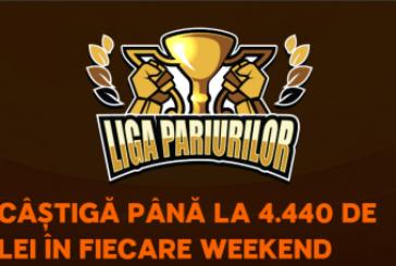 Liga Pariurilor la 888Sport: premii de pana la 4440 RON in fiecare weekend!