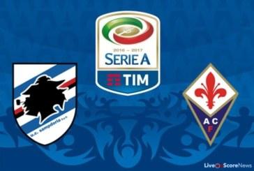 Ponturi Sampdoria vs Fiorentina 19 septembrie 2018 Serie A