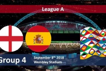 Ponturi Anglia vs Spania 8 septembrie 2018 Liga Natiunilor