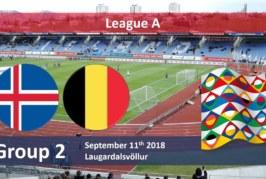 Ponturi Islanda vs Belgia 11 septembrie 2018 Liga Natiunilor
