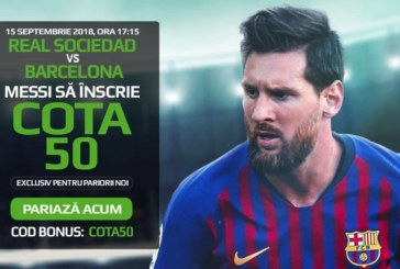 Pontul zilei din fotbal – Sambata 15 Septembrie – Cota 2.00 – Castig potential 200 RON