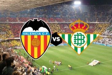 Ponturi Valencia vs Betis Sevilla 15 septembrie 2018 La Liga