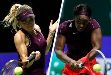 Ponturi tenis feminin Turneul Campioanelor 28 octombrie Elina Svitolina vs Sloane Stephens