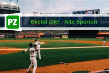 Biletul zilei din alte sporturi de la Ay Millz – Luni 04 Martie – Cota 1.97