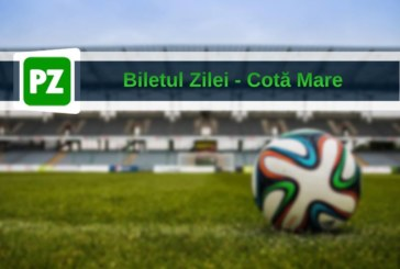 Biletul zilei din fotbal de COTA MARE – Luni 04 Martie – Cota 92