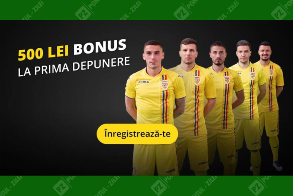 Bonus de bun venit Fortuna