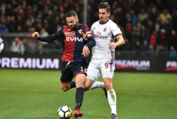 Ponturi pariuri AC Milan vs Genoa – Italia Serie A 31 octombrie 2018