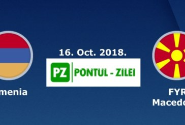 Ponturi pariuri Armenia vs Macedonia Liga Natiunilor 16 octombrie 2018