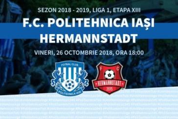 Ponturi pariuri Poli Iasi vs Hermannstadt Liga I Betano Romania 26 octombrie 2018