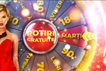 Marți, la MaxBet Cazino, este Ziua Rotirilor Gratuite!