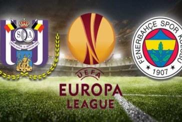 Ponturi pariuri Anderlecht vs Fenerbahce – UEFA Europa League – 25 octombrie 2018