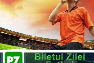 Biletul zilei din fotbal 3 martie – cota 2.34