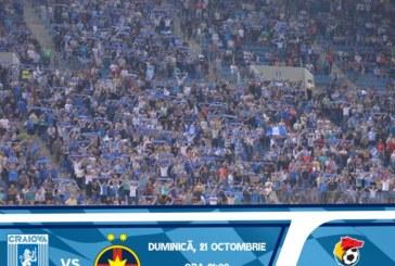 Ponturi pariuri Universitatea Craiova vs FCSB – 21 octombrie 2018 Liga 1
