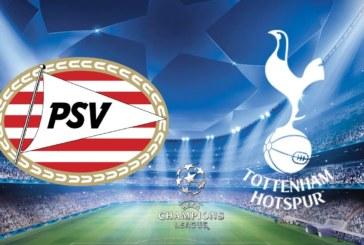 Ponturi pariuri PSV Eindhoven vs Tottenham – UEFA Champions League – 24 octombrie 2018