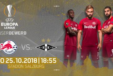 Ponturi pariuri Salzburg vs Rosenborg – 25 octombrie 2018 Europa League