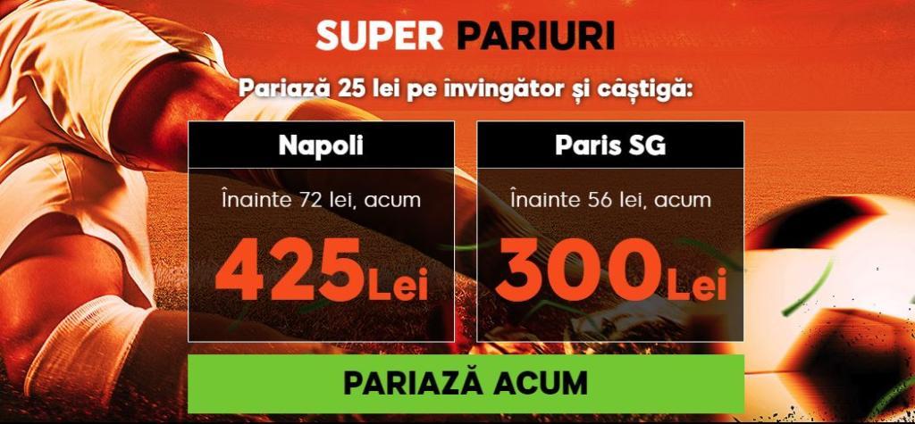 Cota zilei din fotbal – Marti 06 Noiembrie – Cota 2.20 – Castig potential 220 RON
