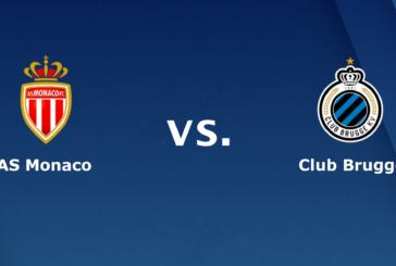 Ponturi pariuri AS Monaco vs Club Brugge – UEFA Champions League – 6 noiembrie 2018