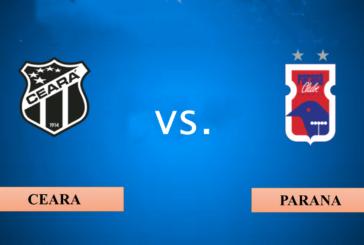 Ponturi pariuri Ceara vs Parana – Brazilia Serie A – 23 noiembrie 2018