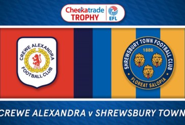 Ponturi pariuri Crewe vs Shrewsbury – Anglia EFL Trophy – 13 noiembrie 2018