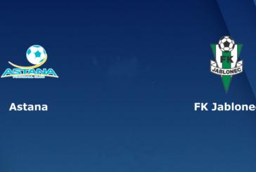 Ponturi pariuri FC Astana vs Jablonec – UEFA Europa League – 8 noiembrie 2018