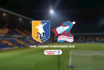 Ponturi pariuri Mansfield vs Scunthorpe – EFL Trophy 13 noiembrie 2018