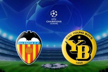 Ponturi pariuri Valencia vs Young Boys – Liga Campionilor 7 noiembrie 2018
